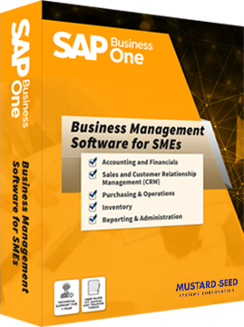 sap business one_erp software
